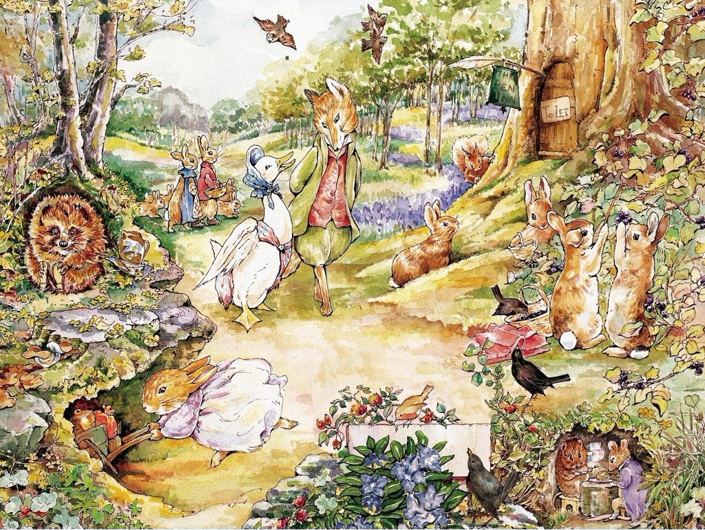 Walk in the Woods Animals Jigsaw Puzzle