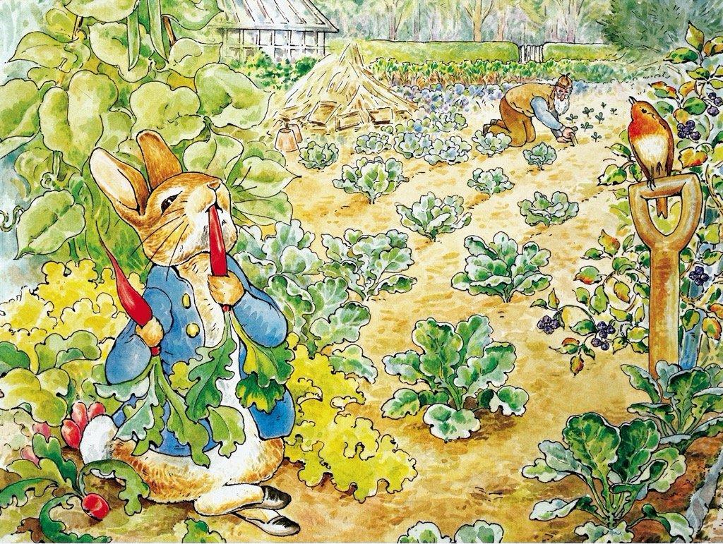 Peter Rabbit's Garden Snack Movies / Books / TV Jigsaw Puzzle
