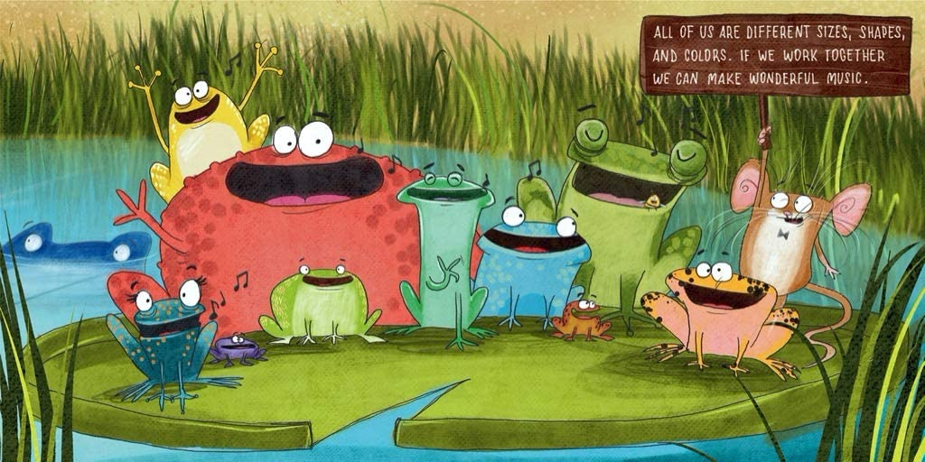Frogs in a Bog Movies / Books / TV Jigsaw Puzzle