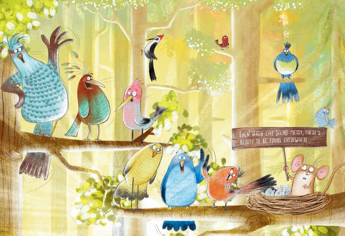 Woodbird Welcome Inspirational Jigsaw Puzzle