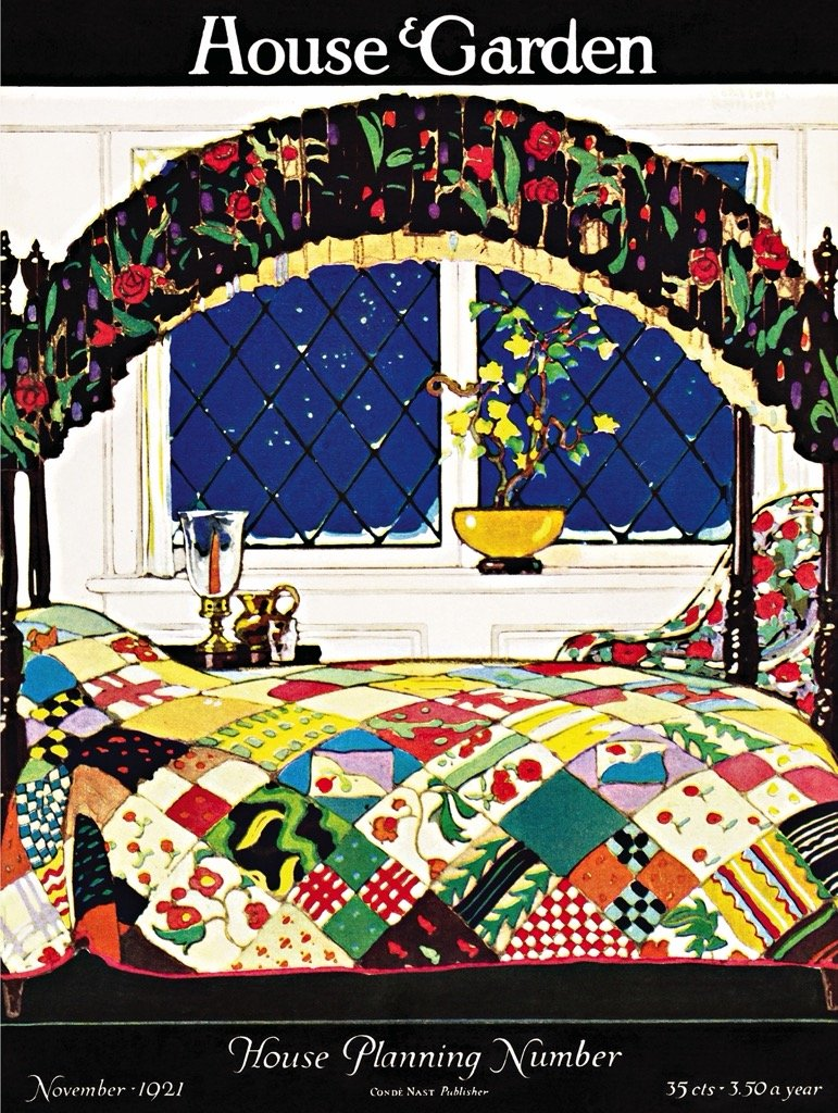 Quilted Comfort Magazines and Newspapers Jigsaw Puzzle