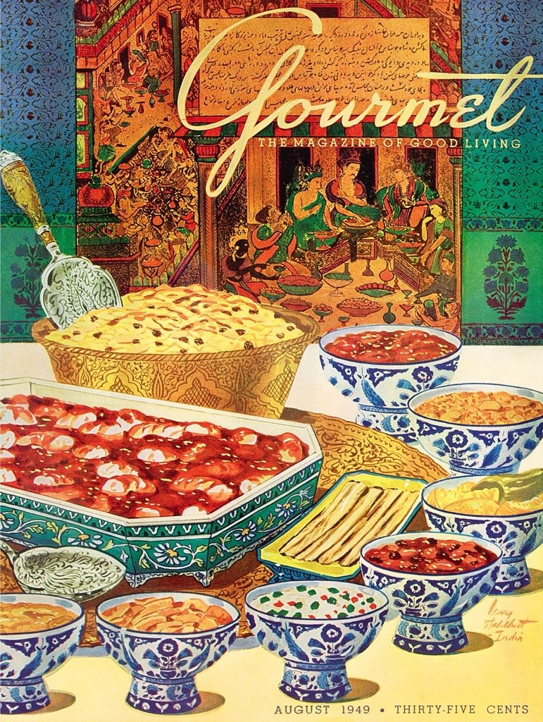 Indian Cuisine Food and Drink Jigsaw Puzzle