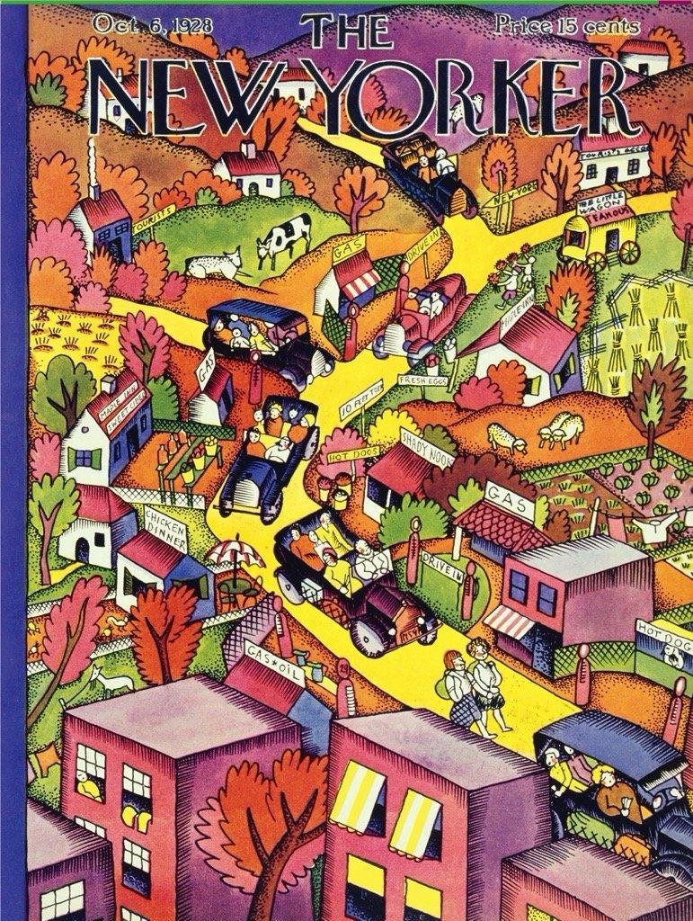 Autumn Excursion Fall Jigsaw Puzzle
