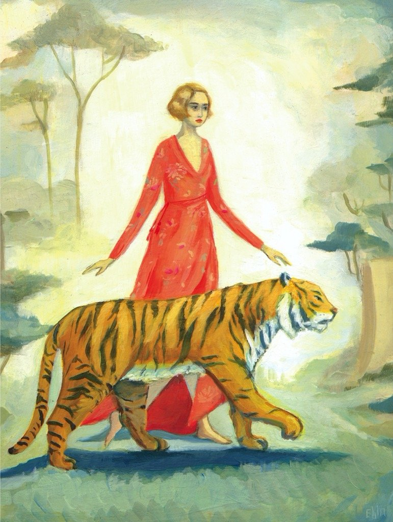 Tiger's Bride People Jigsaw Puzzle