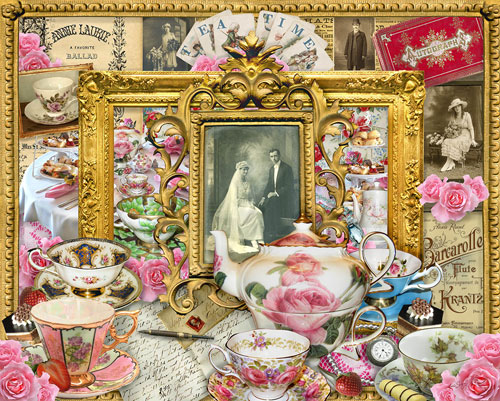 Tea Time Everyday Objects Jigsaw Puzzle
