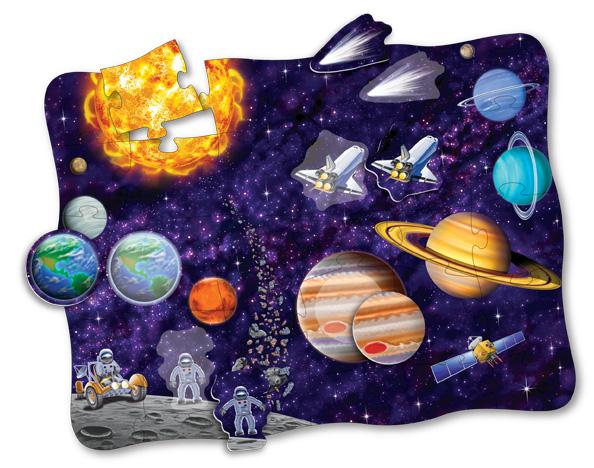 Puzzle Doubles Discover It! 3D Space Space Jigsaw Puzzle