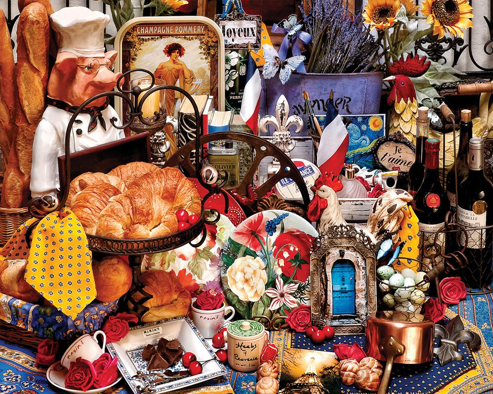 Vive La France Jigsaw Puzzle Puzzlewarehouse Com
