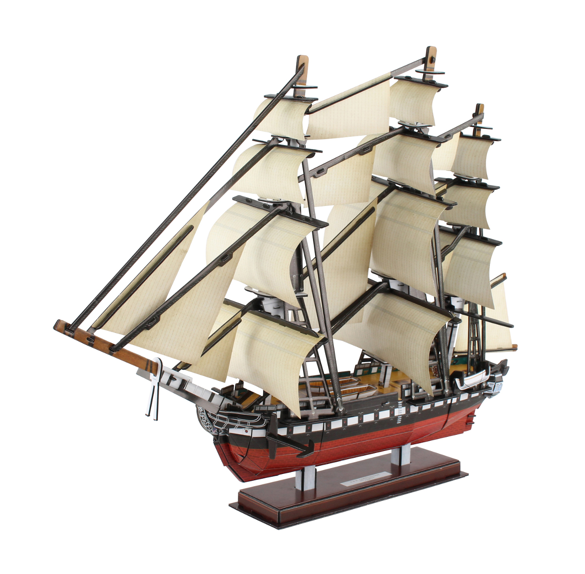 USS Constitution Boats 3D Puzzle