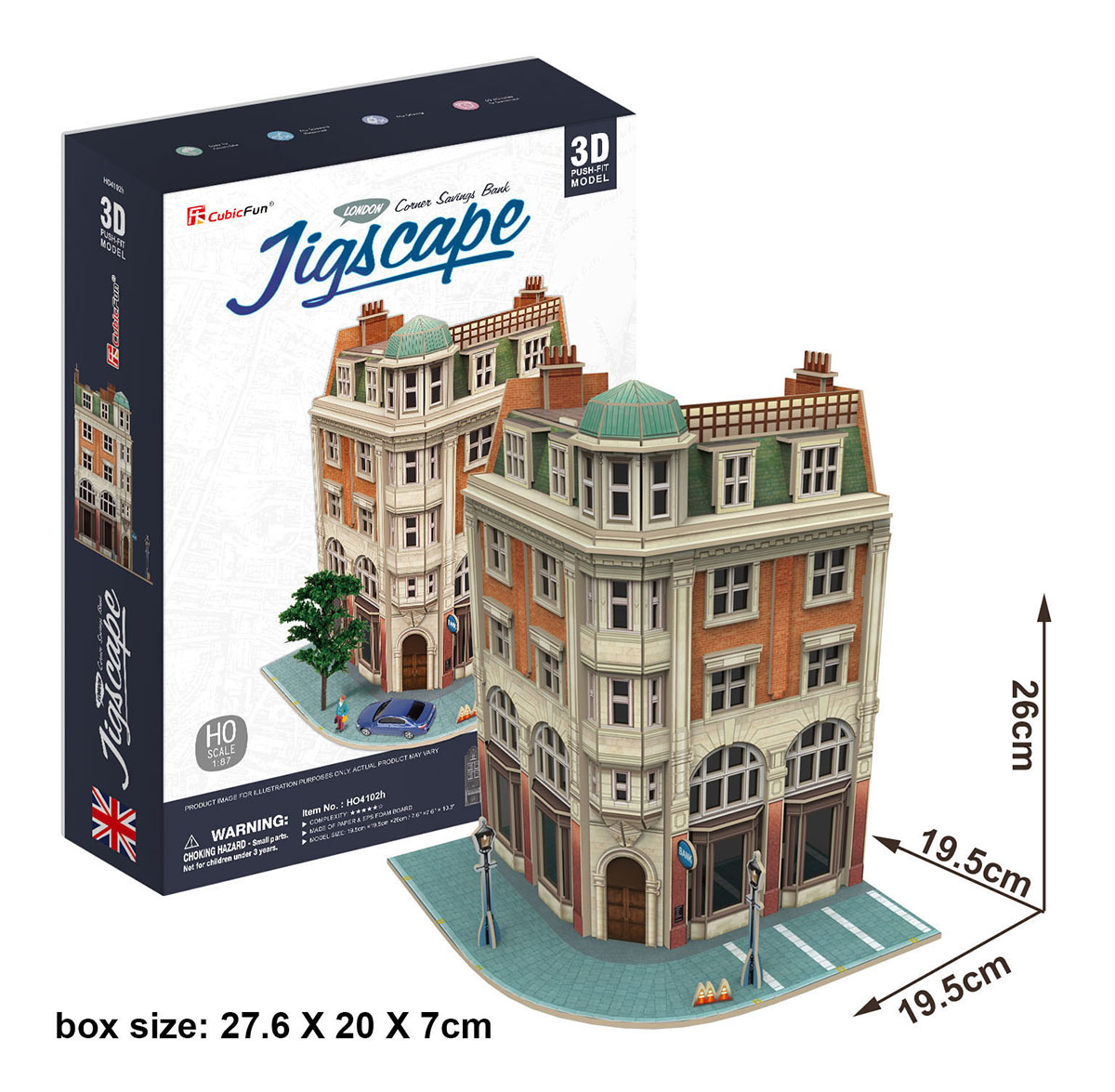 Corner Savings Bank Landmarks / Monuments Jigsaw Puzzle