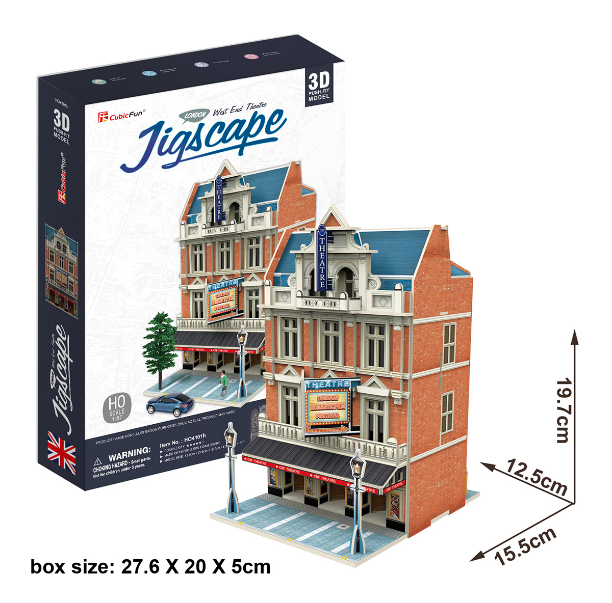 West End Theatre Landmarks / Monuments Jigsaw Puzzle
