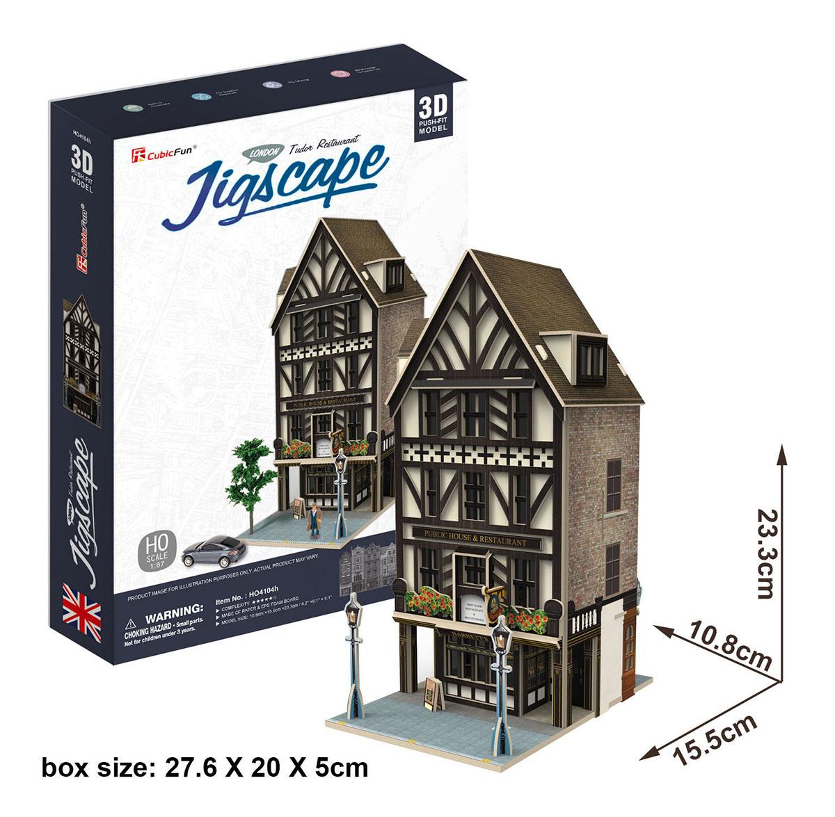 Tudor Restaurant Jigsaw Puzzle