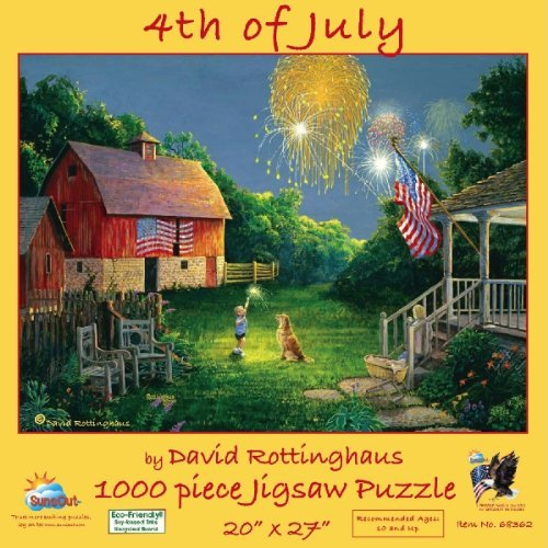 4th of July Fourth of July Jigsaw Puzzle