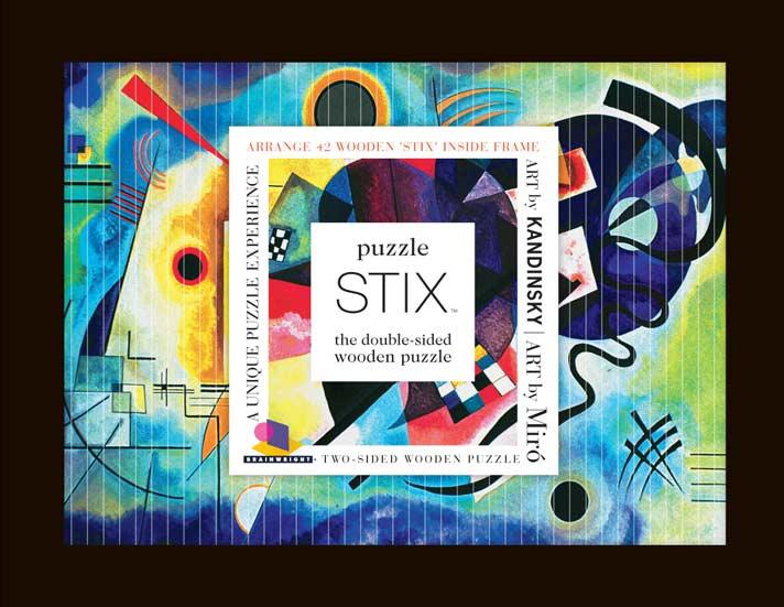 Puzzle Stix - Kandinsky Non-Interlocking Puzzle