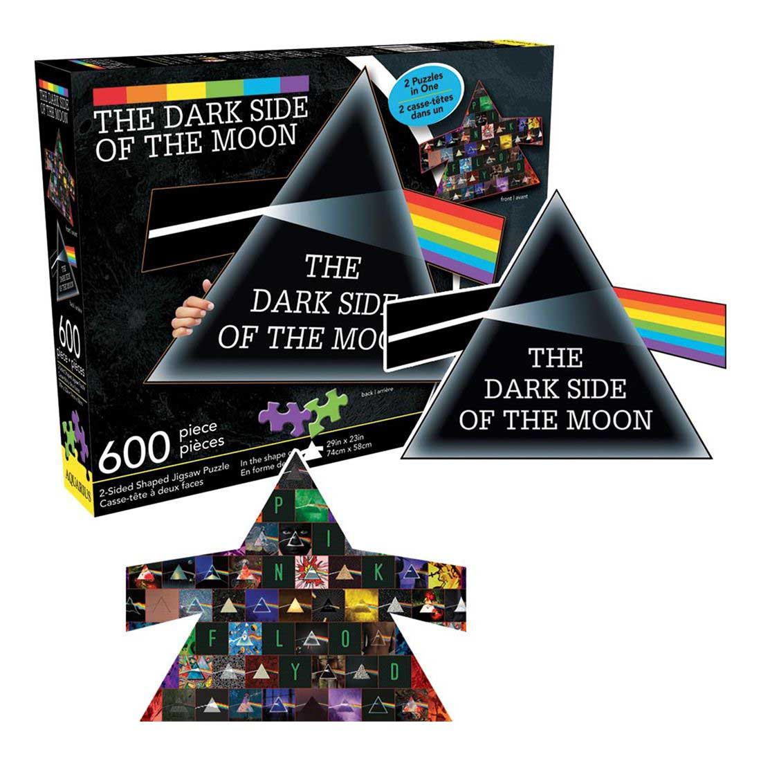 Pink Floyd - Dark Side of the Moon Movies / Books / TV Jigsaw Puzzle