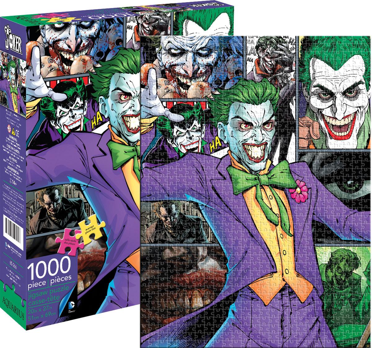 Joker (DC Comics) - Scratch and Dent Jigsaw Puzzle
