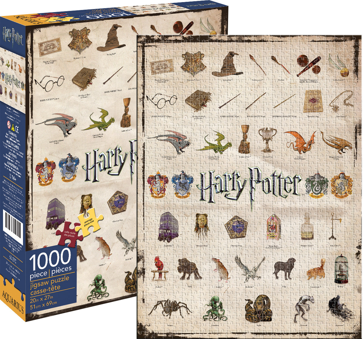 harry potter icons jigsaw puzzle. Black Bedroom Furniture Sets. Home Design Ideas