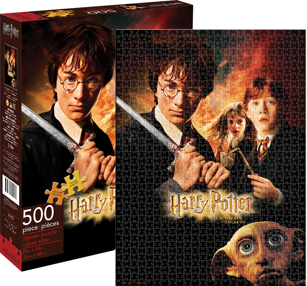 harry potter chamber of secrets jigsaw puzzle. Black Bedroom Furniture Sets. Home Design Ideas