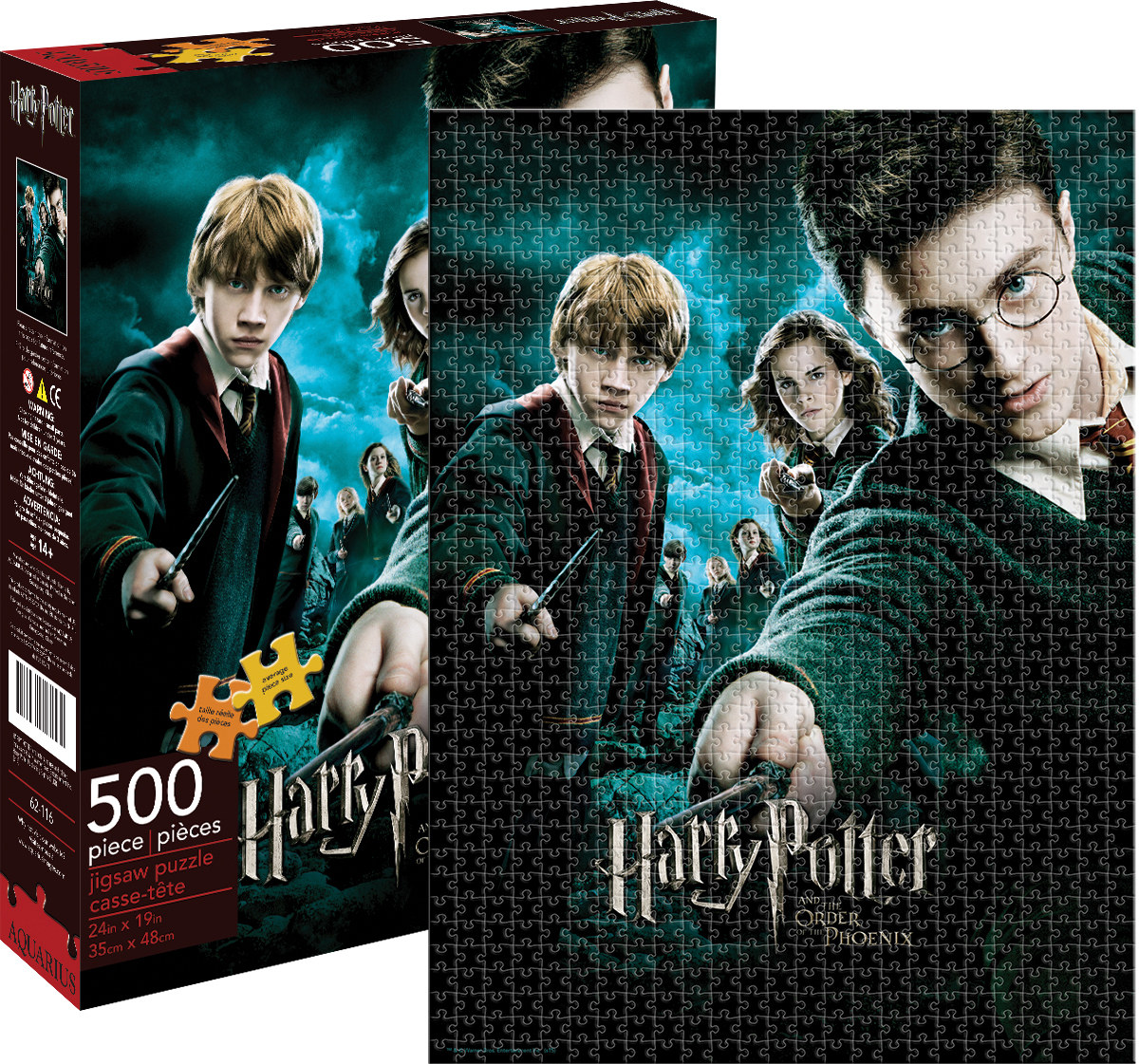 harry potter order of phoenix jigsaw puzzle. Black Bedroom Furniture Sets. Home Design Ideas