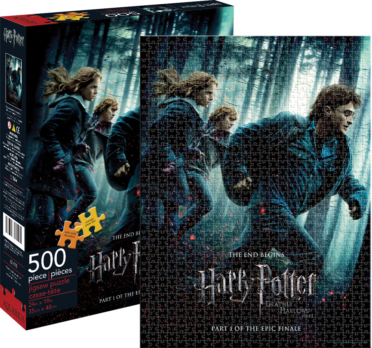 harry potter deathly hallows part i jigsaw puzzle. Black Bedroom Furniture Sets. Home Design Ideas