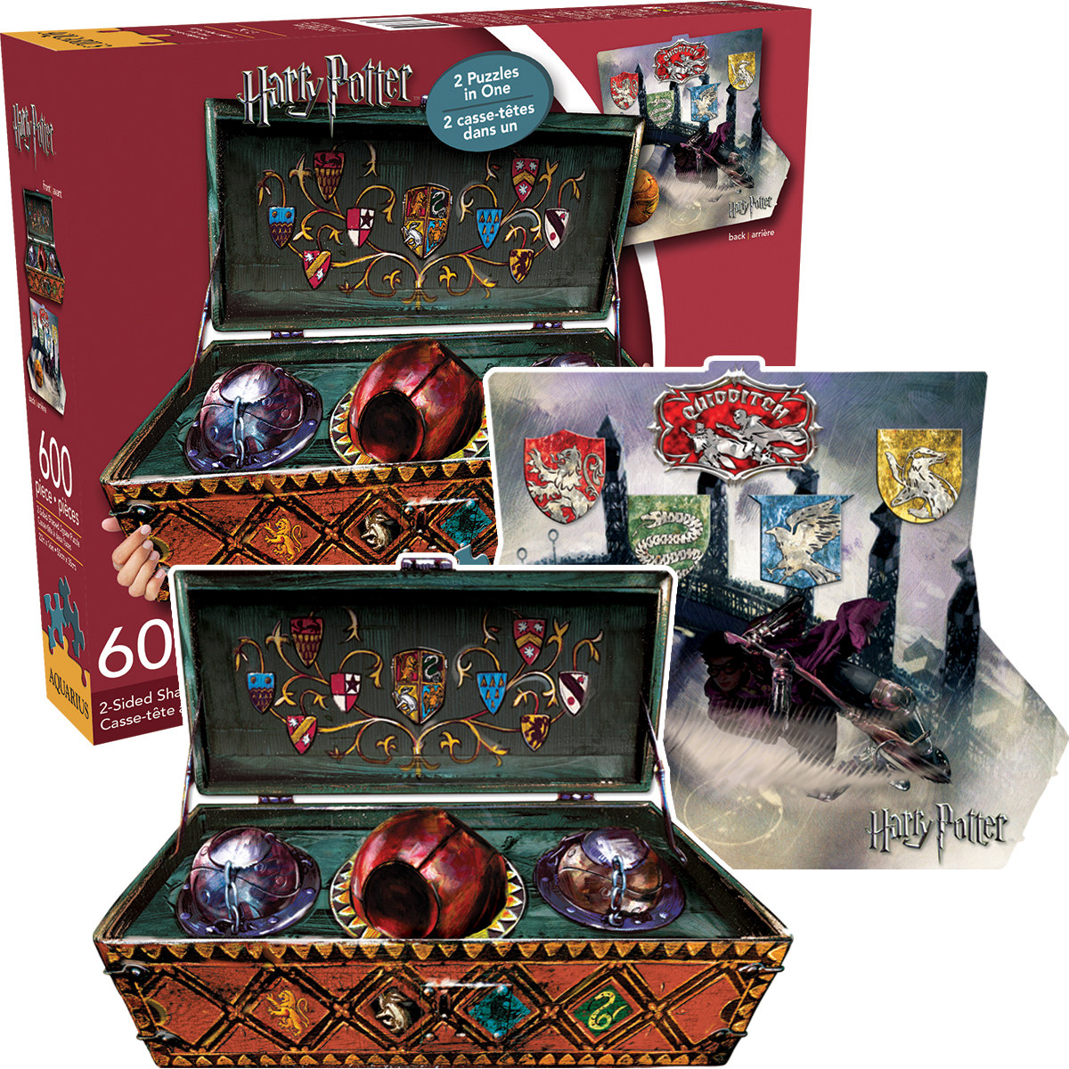 Harry Potter Quidditch Set Movies / Books / TV Shaped Puzzle