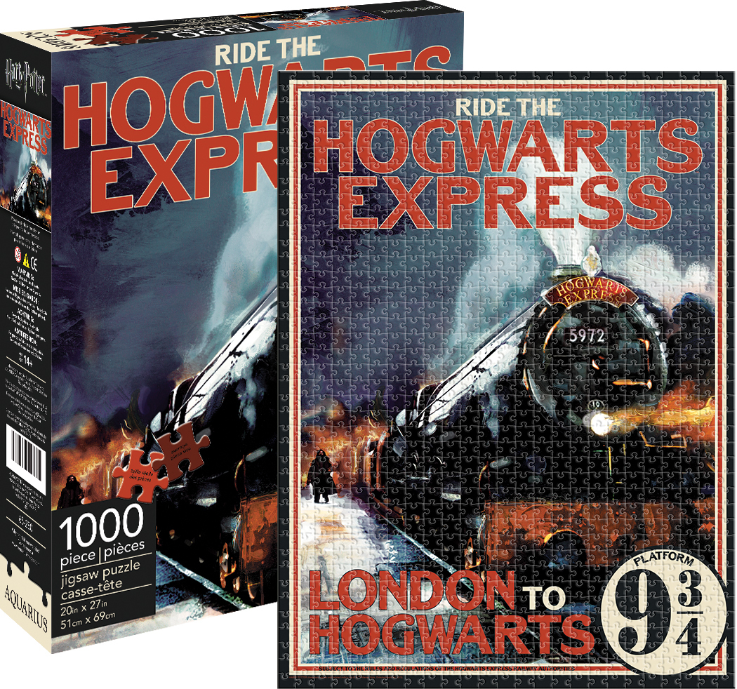 Hogwarts Express Fantasy Jigsaw Puzzle