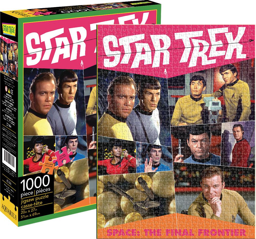 Star Trek Retro Movies / Books / TV Jigsaw Puzzle