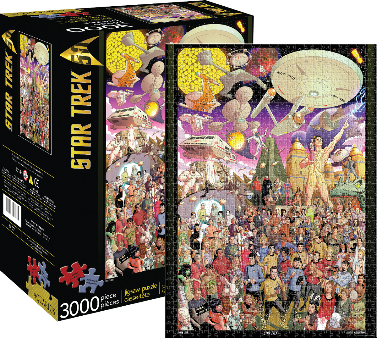 Star Trek 50th Anniversary Movies / Books / TV Jigsaw Puzzle