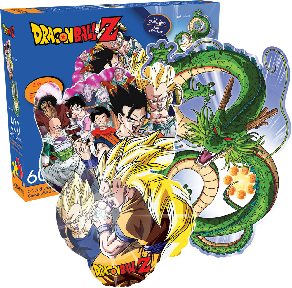 Dragon Ball Z Movies / Books / TV Shaped Puzzle