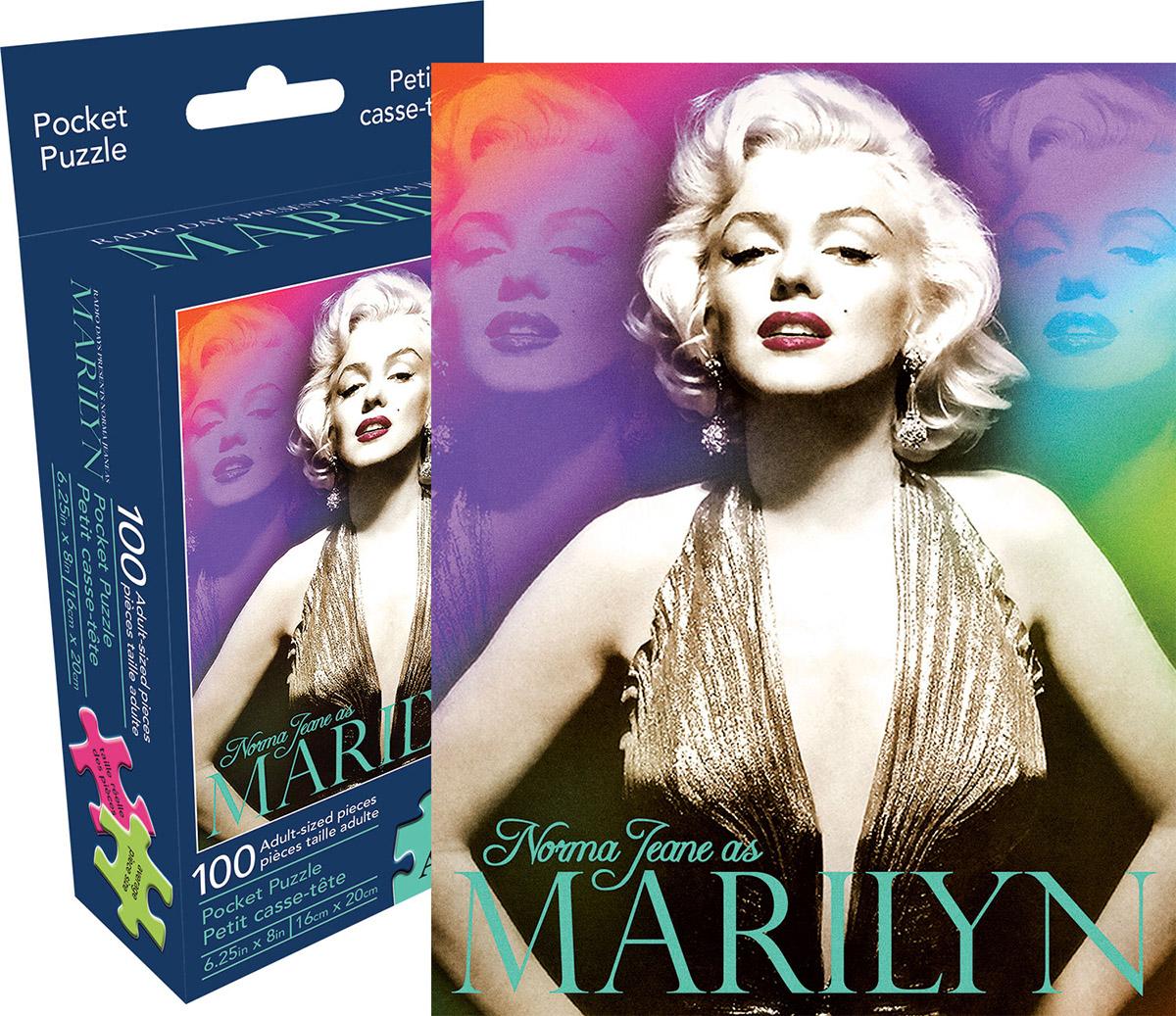 1000-Piece EuroGraphics Marilyn Monroe Color Portrait Jigsaw Puzzle
