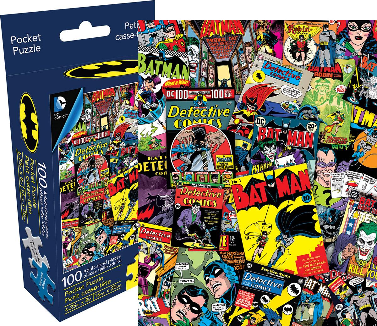 DC Comics Batman Collage Collage Jigsaw Puzzle