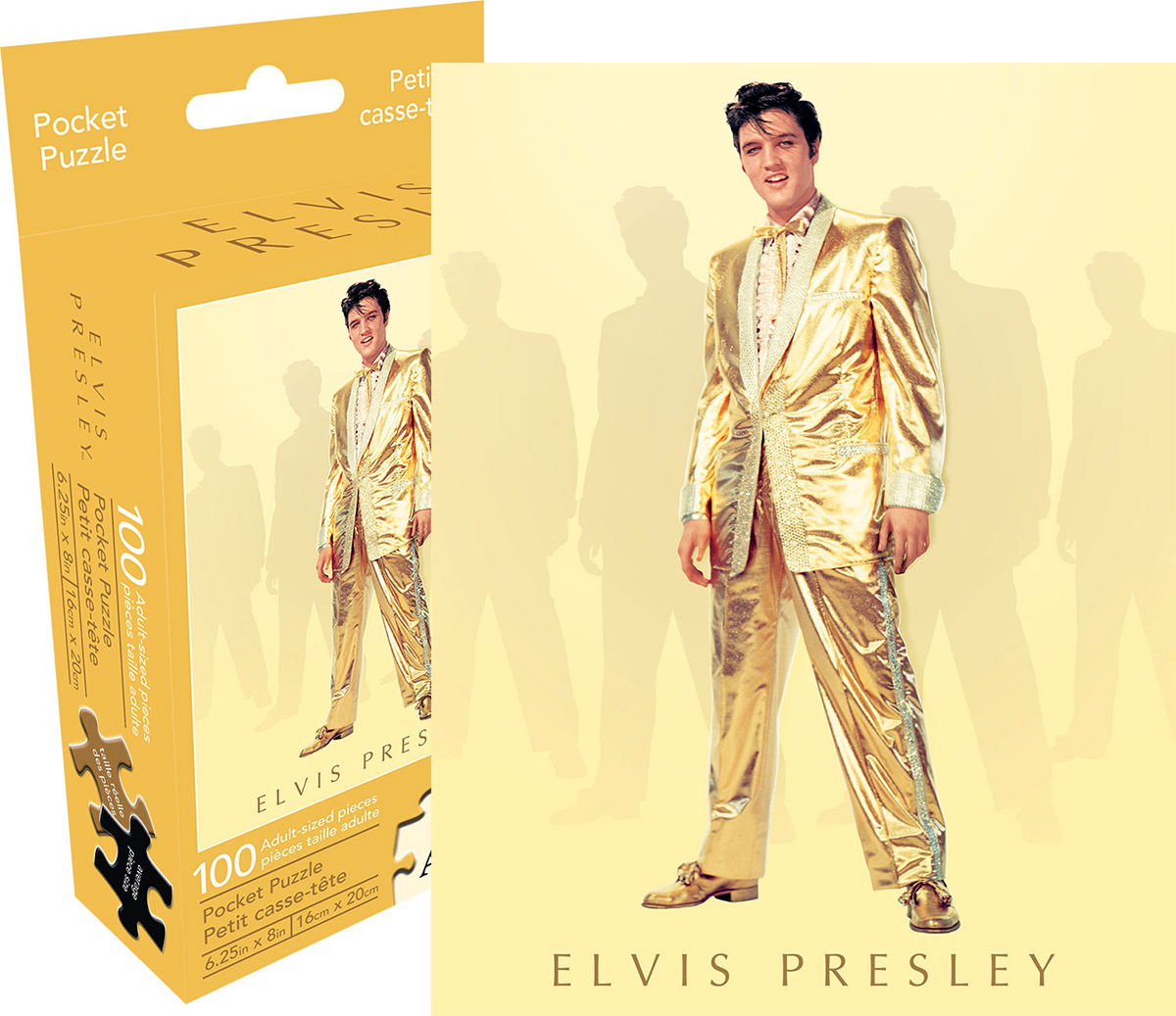 Elvis Gold Music Jigsaw Puzzle