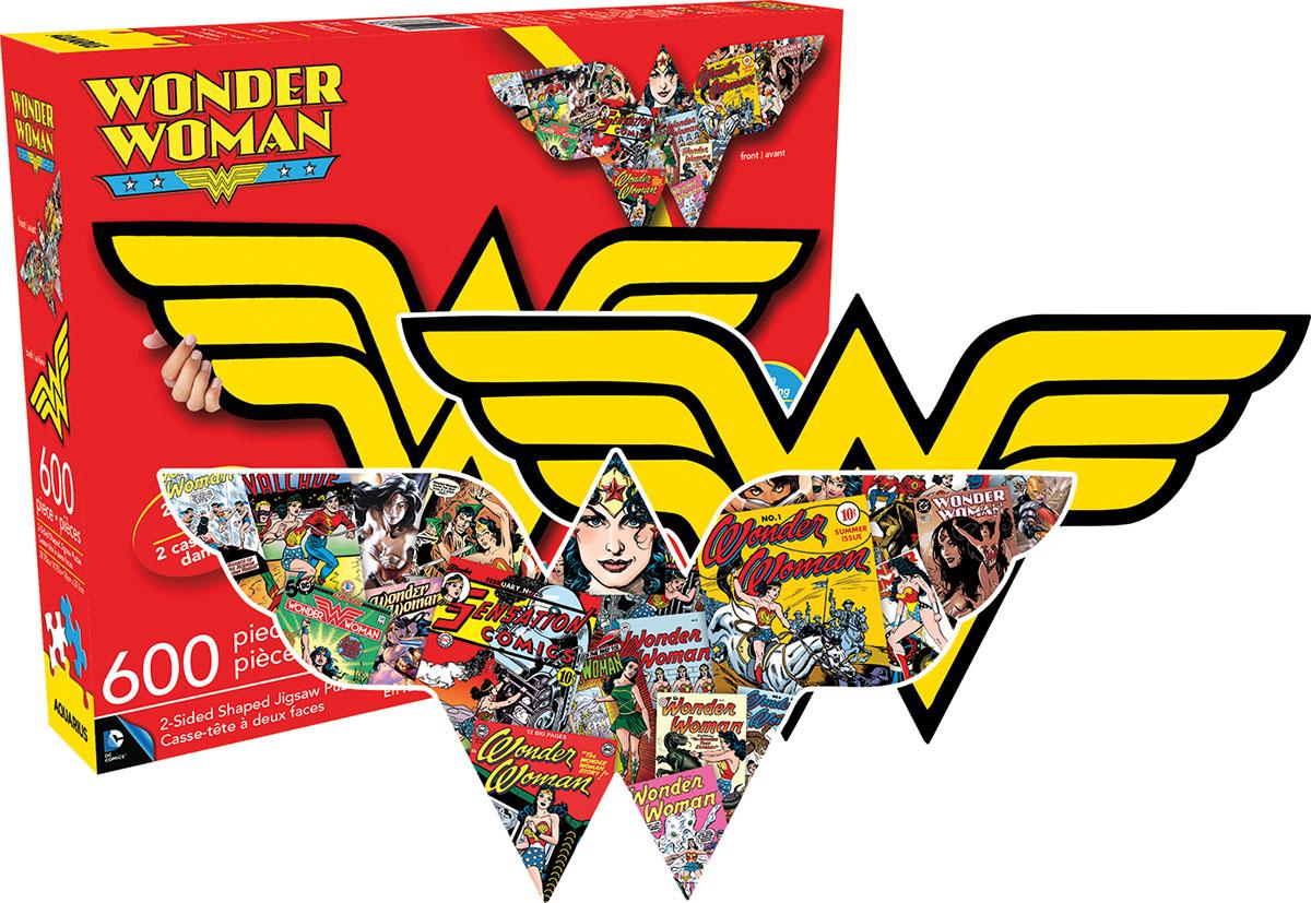 Wonder Woman Logo Super-heroes Shaped Puzzle