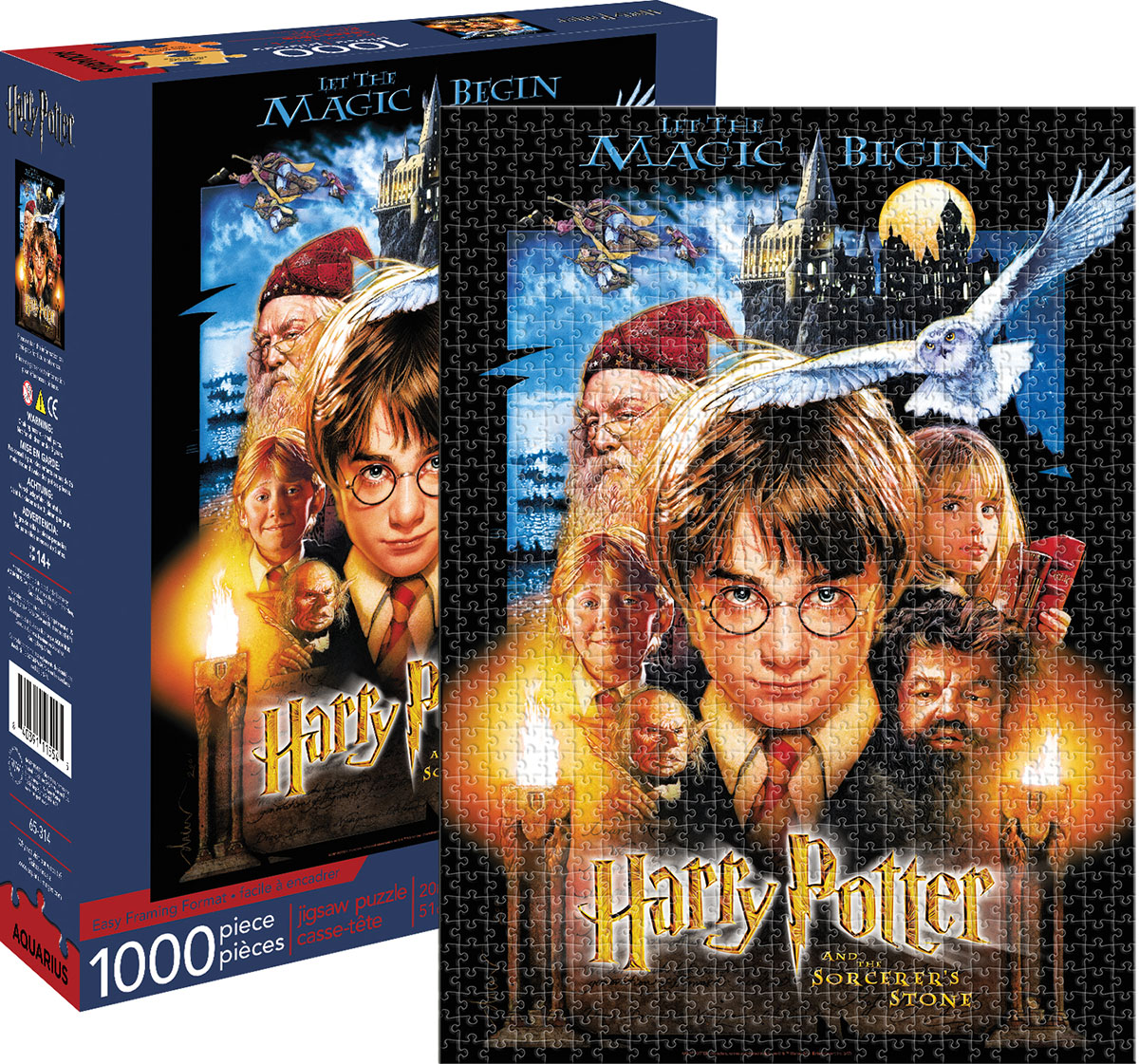 Harry Potter and the Sorcerer's Stone Movies / Books / TV Jigsaw Puzzle