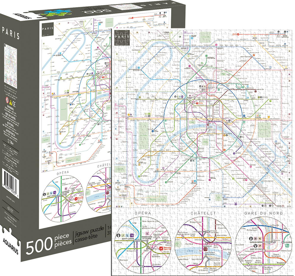 paris metro maps geography jigsaw puzzle