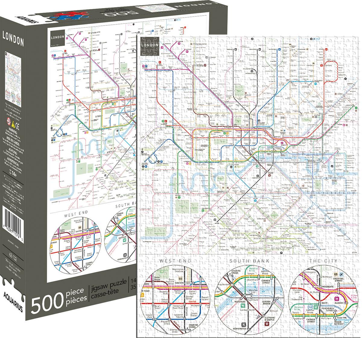 London Underground Jigsaw Puzzle PuzzleWarehousecom