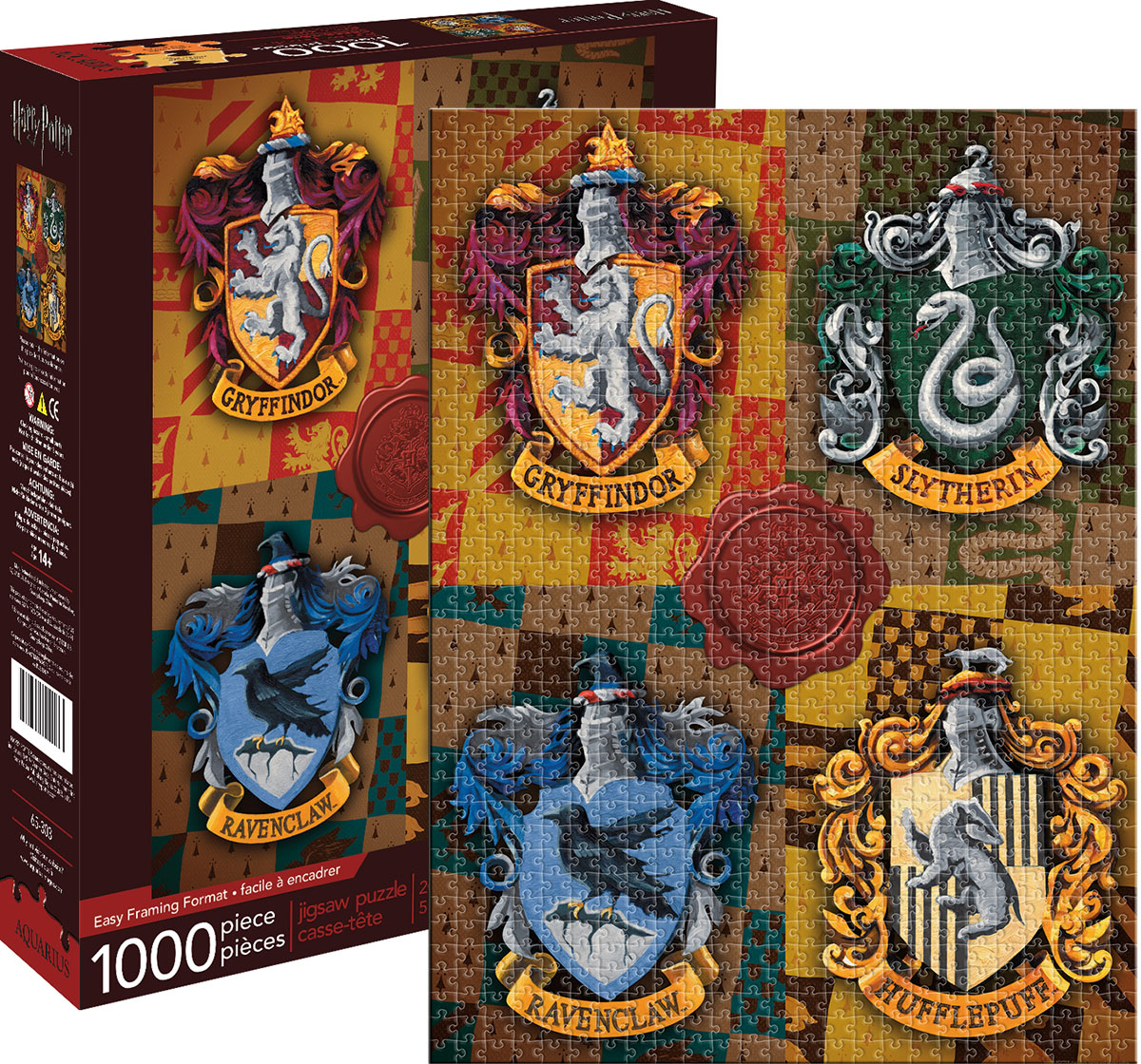 Harry Potter Crests Harry Potter Jigsaw Puzzle
