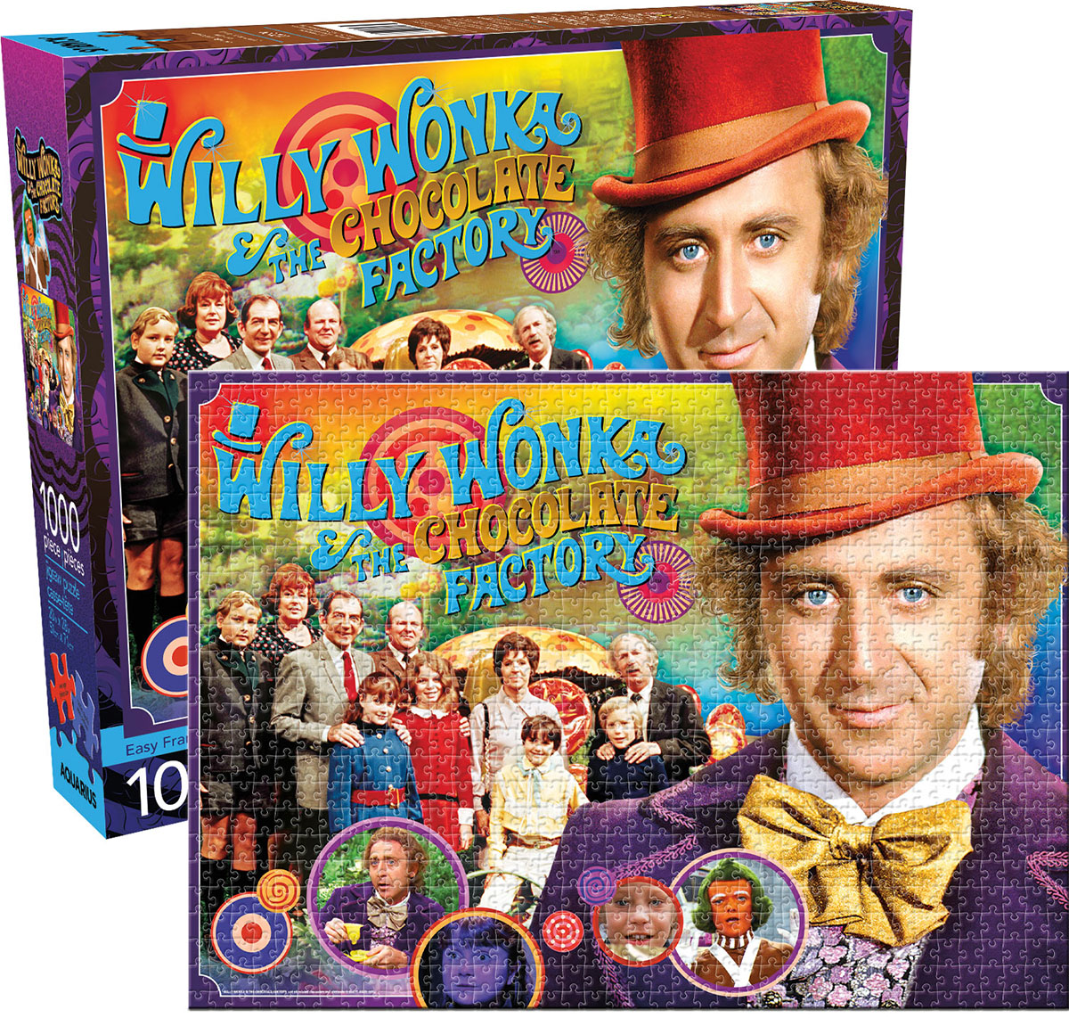Willy Wonka & the Chocolate Factory Movies / Books / TV Jigsaw Puzzle