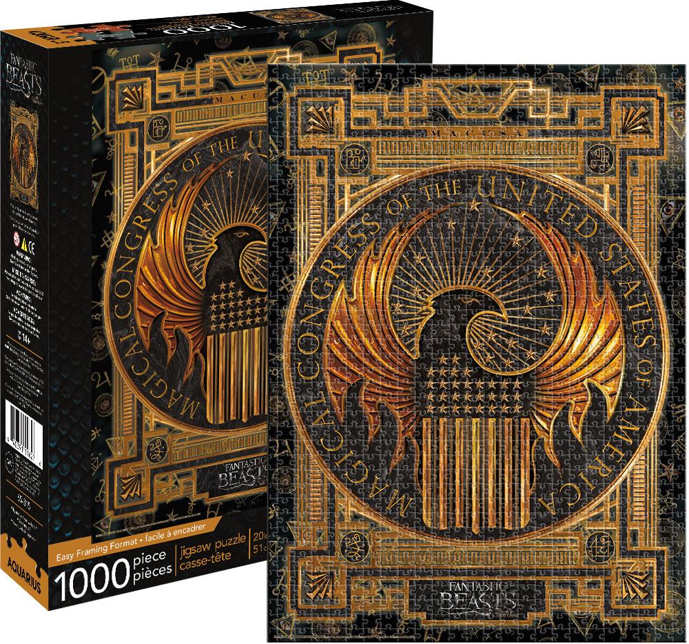 Fantastic Beasts MACUSA Fantasy Jigsaw Puzzle