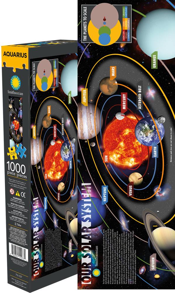 Smithsonian Solar System Jigsaw Puzzle   PuzzleWarehouse.com