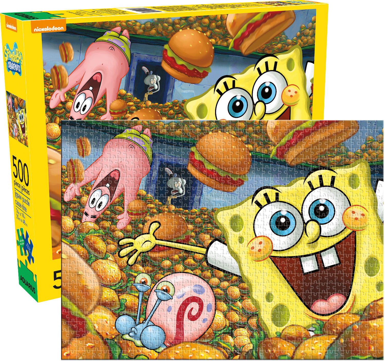 Sponge Bob Square Pants Movies / Books / TV Jigsaw Puzzle
