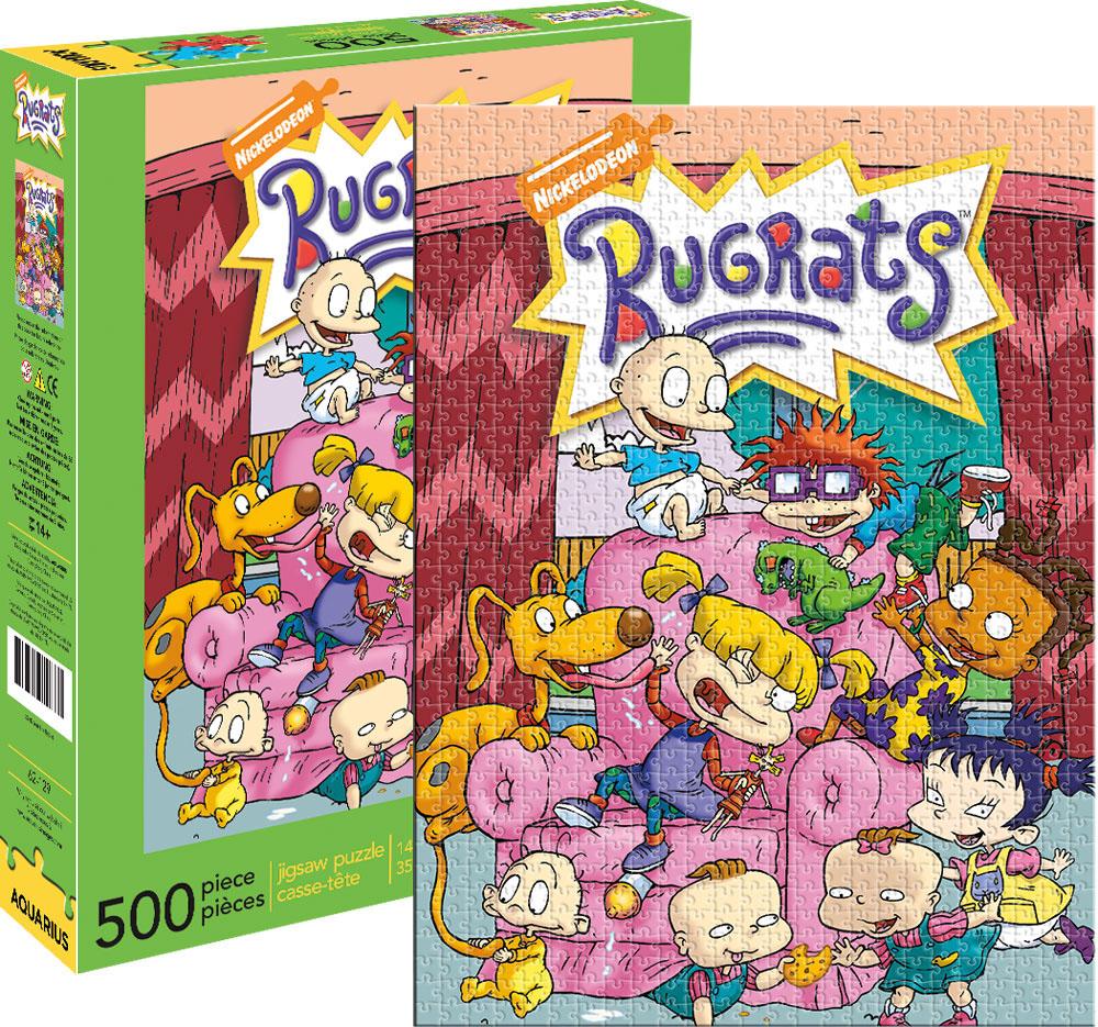 rugrats jigsaw puzzle puzzlewarehouse com