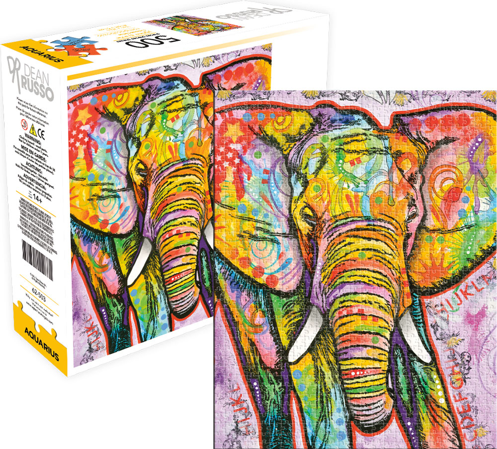 Elephant Elephants Jigsaw Puzzle