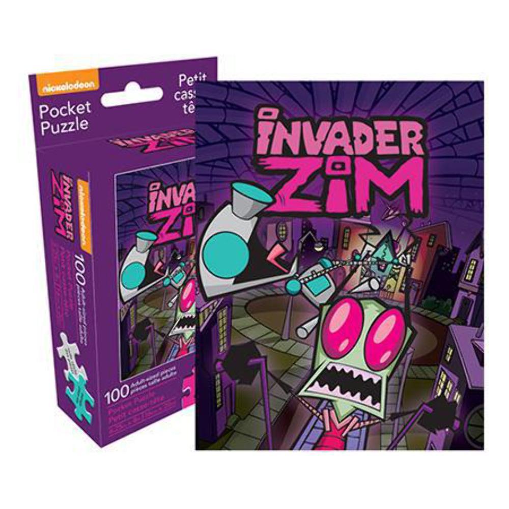 Invader Zim Pocket Puzzle Cartoons Jigsaw Puzzle