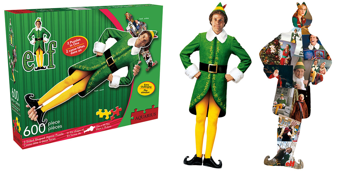 Elf Movies / Books / TV Shaped Puzzle