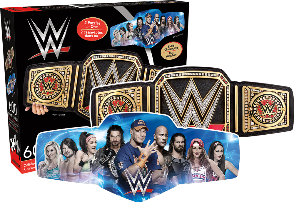WWE Sports Shaped Puzzle
