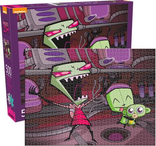 Invader Zim Cartoons Jigsaw Puzzle
