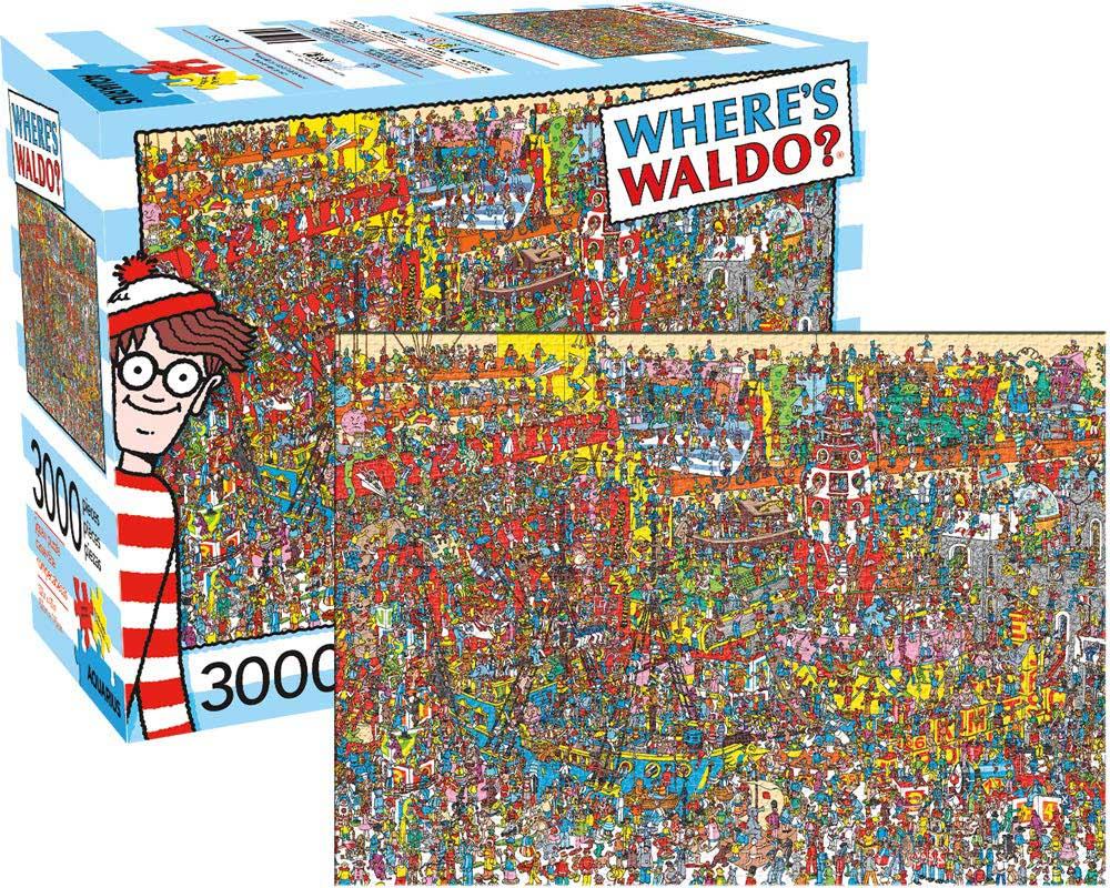 Where's Waldo Movies / Books / TV Hidden Images