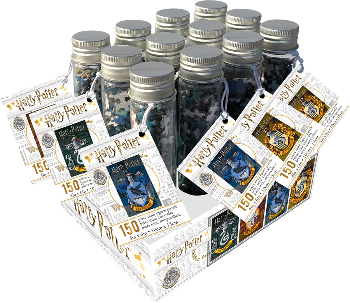 Harry Potter Puzzle In A Tube 12 pack FOR ORDERING