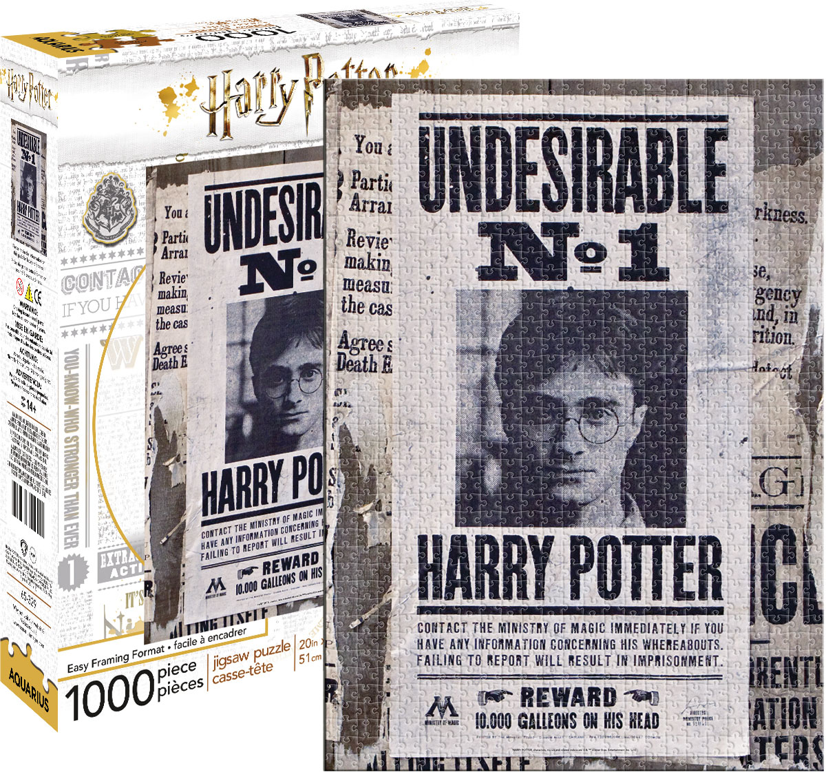 Harry Potter- Undesireable No. 1 Fantasy Jigsaw Puzzle
