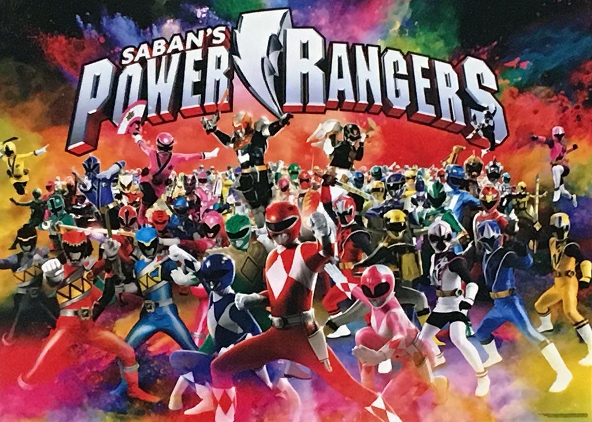 Saban's Power Rangers Super-heroes Jigsaw Puzzle